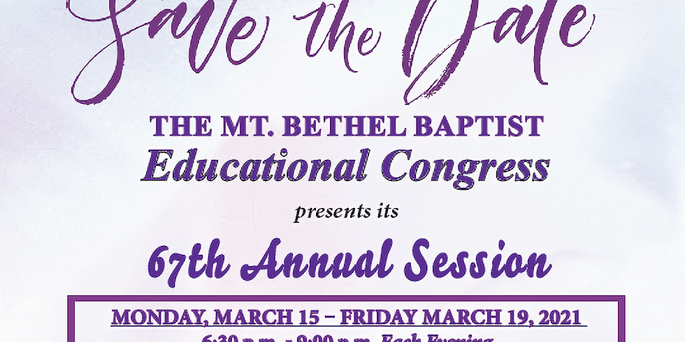 67th Annual Session
