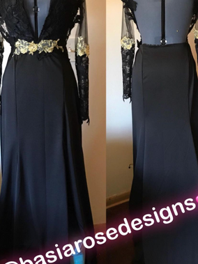 Gowns made By Basia Rose Designs