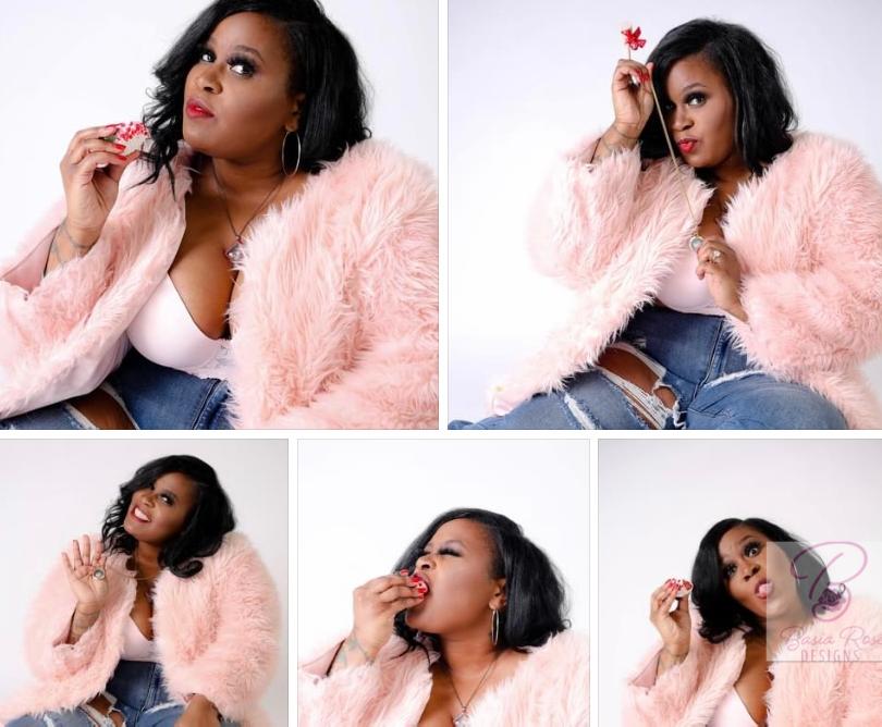 Fur Coat Collage