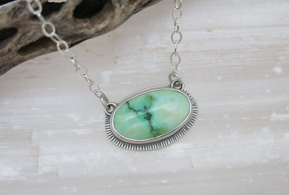 Sonoran Gold Turquoise Necklace