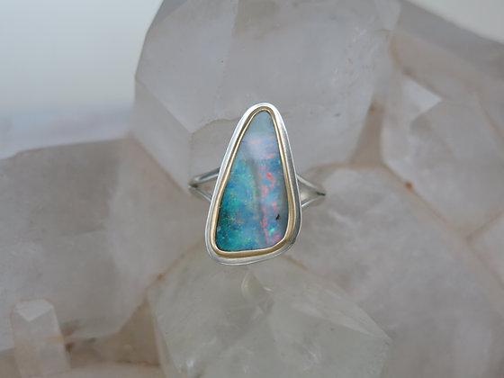 Boulder Opal Beauty Ring