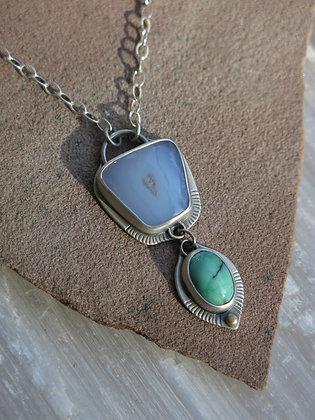 Open Heart Talisman Necklace