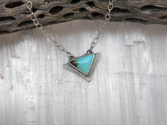 Turquoise Flight Necklace