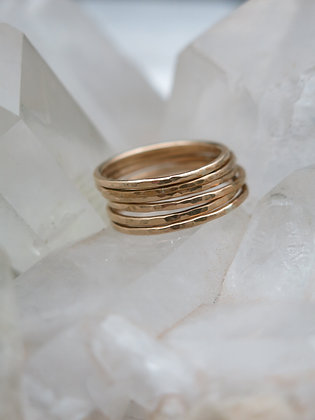 14KT Gold-filled Stacker Rings