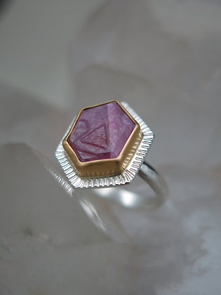 Cosmic Record Keeper Ruby Ring 1