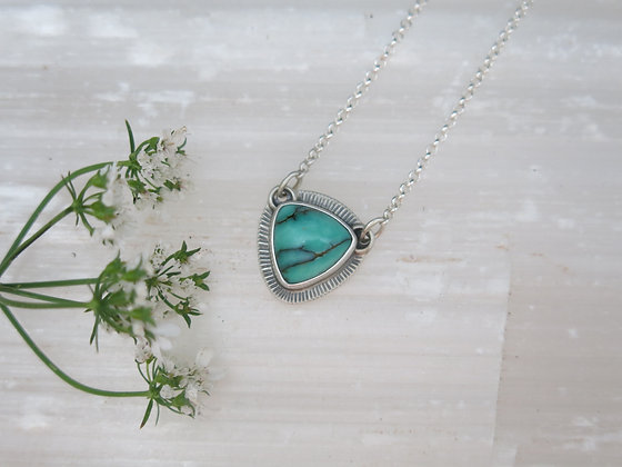 Variscite Drop Necklace