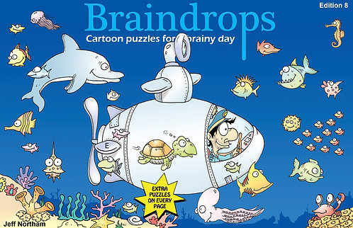 Braindrops Puzzle Book edition 8