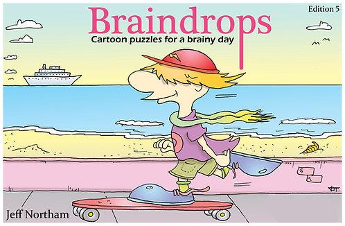 Braindrops Puzzle Book edition 5