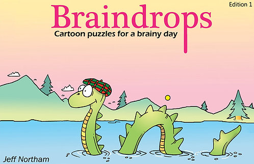 Braindrops Puzzle Book edition 1