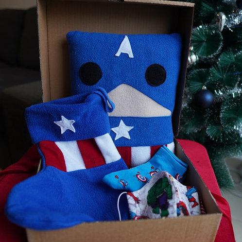 מארז חג בהשראת קפטן אמריקה