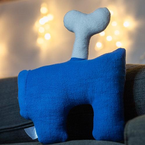 כרית בהשראת אמונג אס כחול