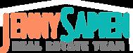 Jenny Sapien logo horizontal color with