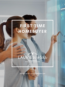 FIRST TIME HOMEBUYER GUIDE COVER LAURIE