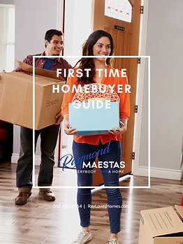 FIRST TIME HOMEBUYER GUIDE COVER RAY MAE