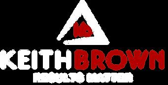 Keith Brown Logo horiz centered white re
