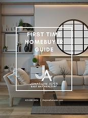 FIRST TIME HOMEBUYER GUIDE JONATHAN ADER