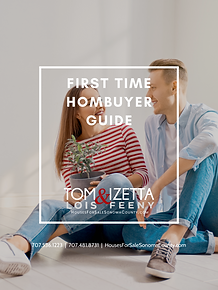 FIRST TIME HOMEBUYER GUIDE COVER TOM LOI