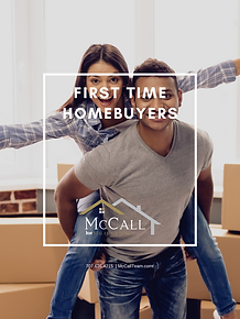 FIRST TIME HOMEBUYER GUIDE COVER MCCALL