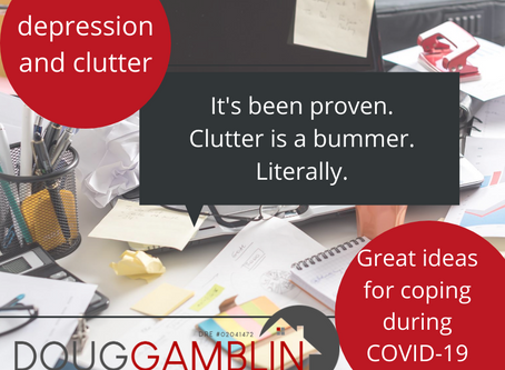 Feeling out of sorts? Clutter may be the culprit!