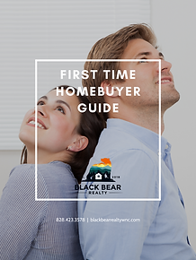 FIRST TIME HOMEBUYER GUIDE COVER BLACK B