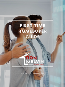 FIRST TIME HOMEBUYER GUIDE COVER RON MEL