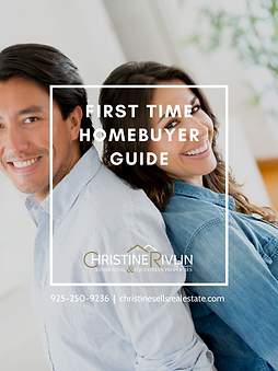 FIRST TIME HOMEBUYER COVER CHRISTINE RIV
