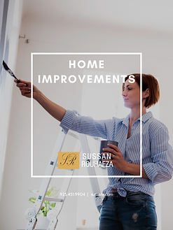 HOME IMPROVEMENTS COVER SUSSAN ROUHAFZA.