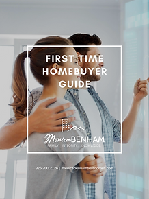 FIRST TIME HOMEBUYER GUIDE COVER MONICA