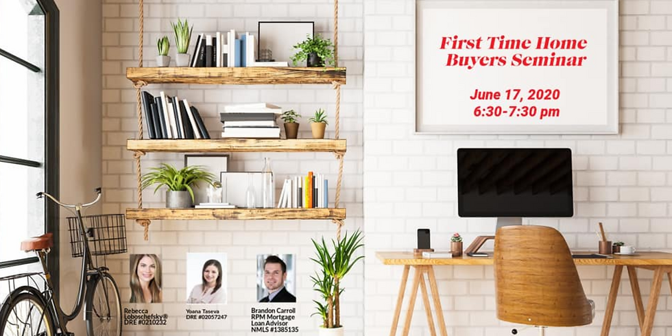 FIRST TIME HOMBUYER SEMINAR