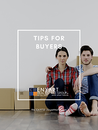 TIPS FOR BUYERS COVER ENYART REAL ESTAE