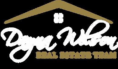 Dayna Wilson logo luxury white transpare