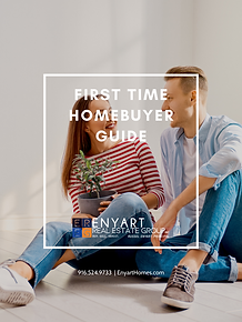 FIRST TIME HOMEBUYER GUIDE  COVER ENYART