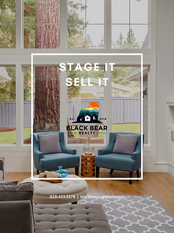 STAGE IT SELL IT COVER BLACK BEAR REALTY