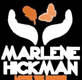 marlene hickman temp logo orange and whi