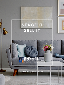 STAGE IT SELL IT COVER ENYART REAL ESTAE