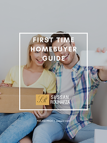 FIRST TIME HOMEBUYER GUIDE COVER SUSSAN