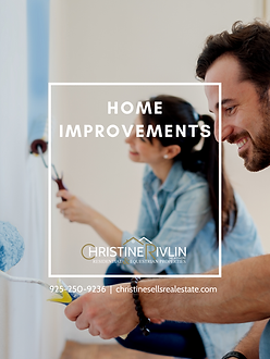 HOME IMPROVEMENTS COVER CHRISTINE RIVLIN
