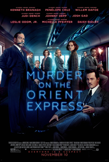 "Murder On Orient Express 40"" x 60"""