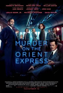 """Murder On Orient Express 40"""" x 60"""""""
