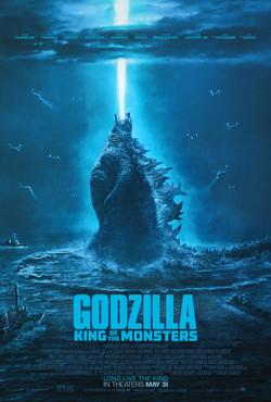 """Godzilla: KOTM 27"""" x 40"""""""