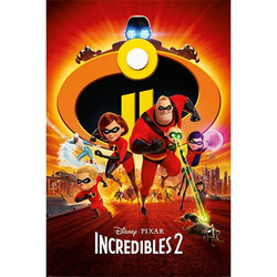 "Incredibles 2 27"" x 40"""