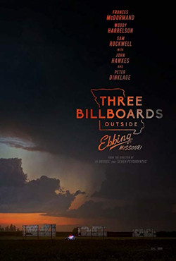 "Three Billboards 27"" x 40"""