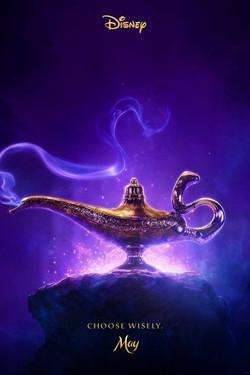 """Aladdin 27"""" x 40"""""""