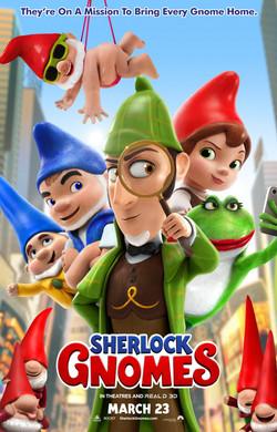 "Sherlock Gnomes 27"" x 40"""