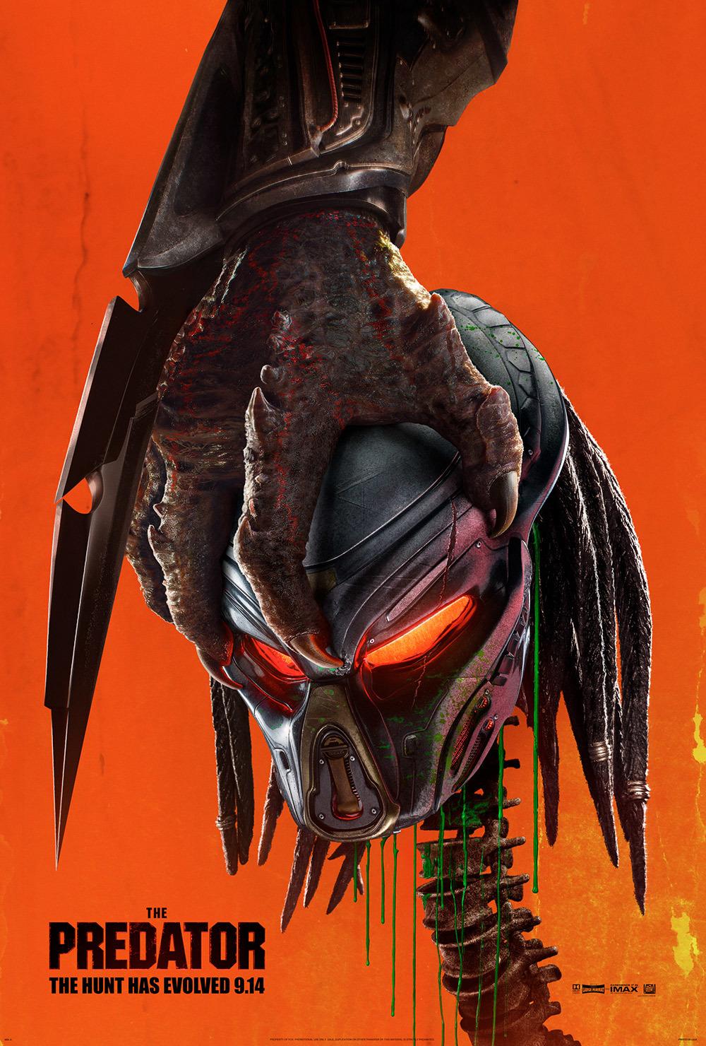 "Predator 40"" x 60"" (Damaged)"