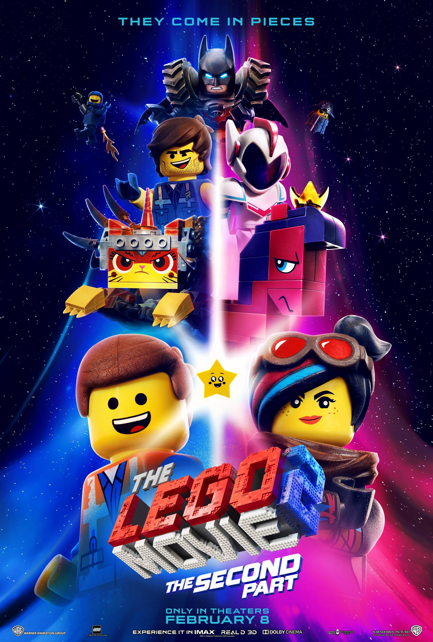 "The Lego Movie 2 27"" x 40"""