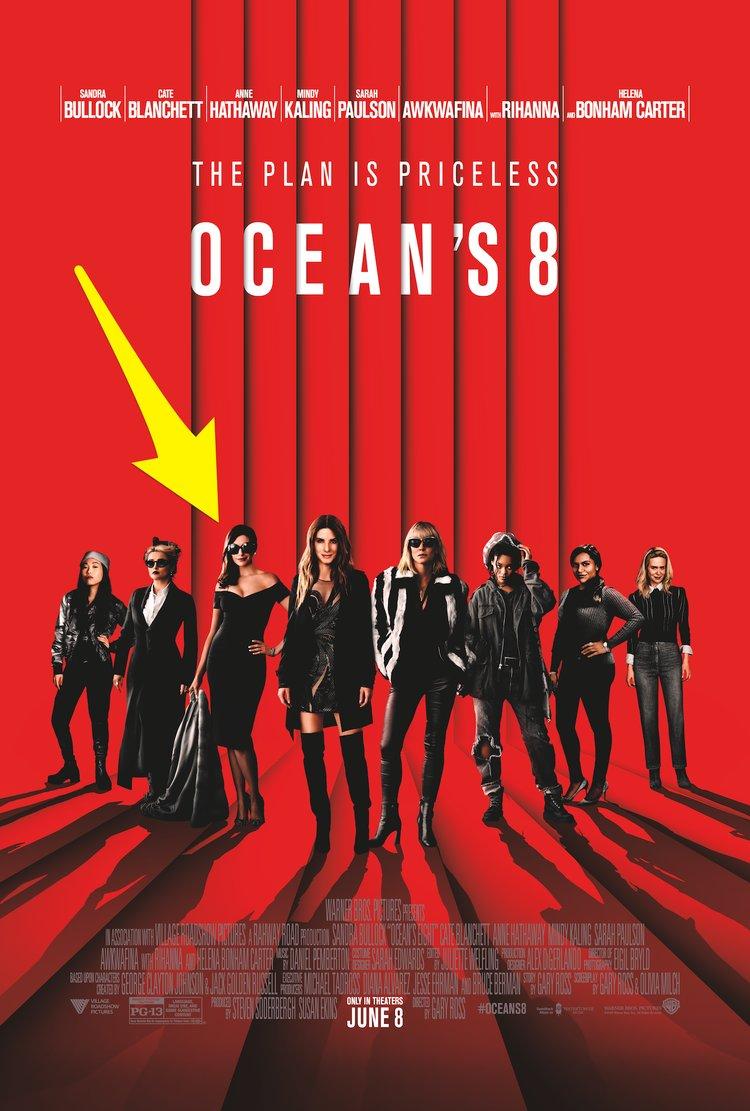 """Ocean's 8 27"""" 40"""""""