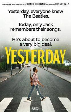 "Yesterday 27"" x 40"""