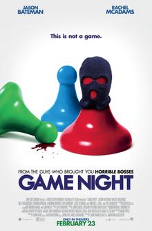 "Game Night 27"" x 40"""