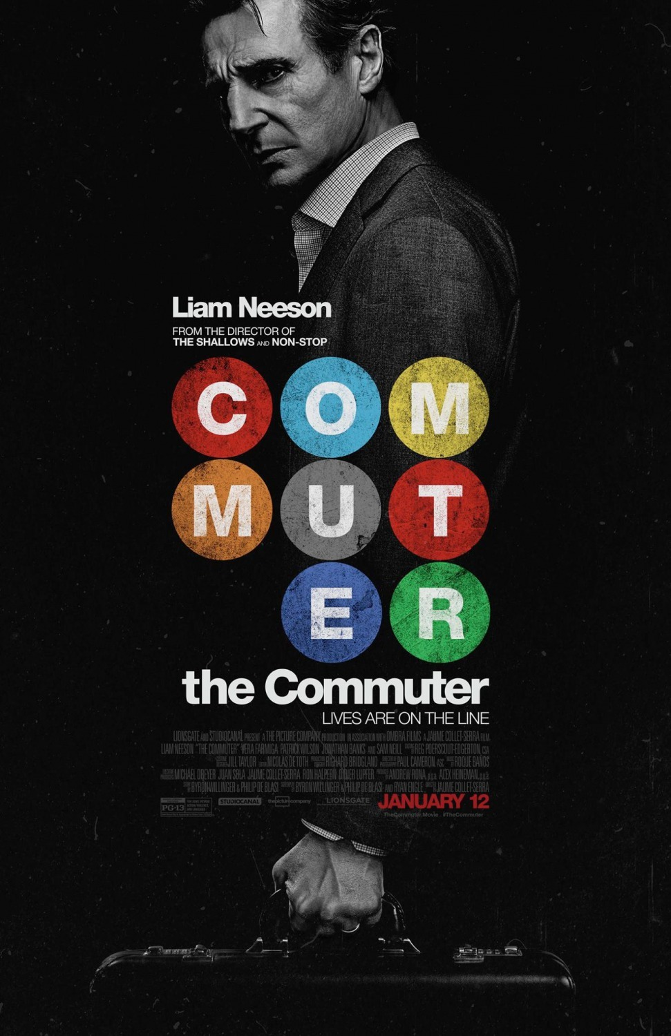 "The Commuter 27"" x 40"""